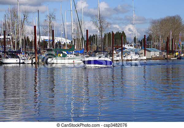 bayou., 渡ること, ボート - csp3482076