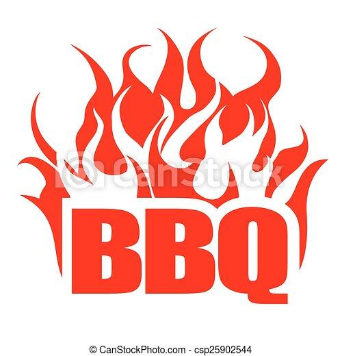 BBQ design template - csp25902544