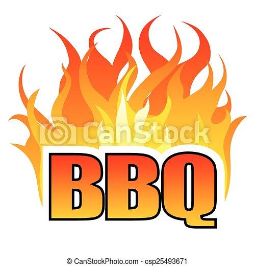 BBQ design template - csp25493671