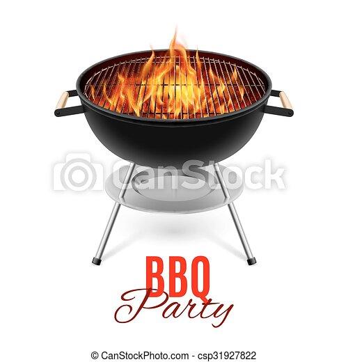 BBQ grill - csp31927822