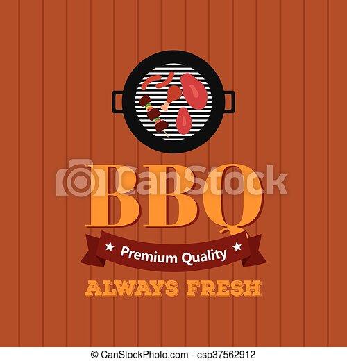 BBQ icon - csp37562912