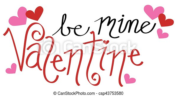 Be Mine Valentine - csp43753580