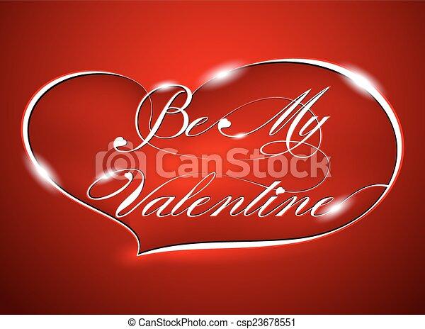 Be My Valentine - csp23678551