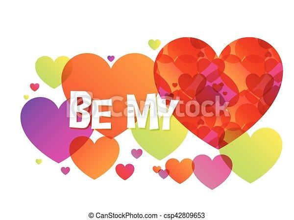 Be My Valentine - csp42809653