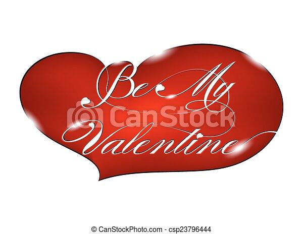 Be My Valentine - csp23796444