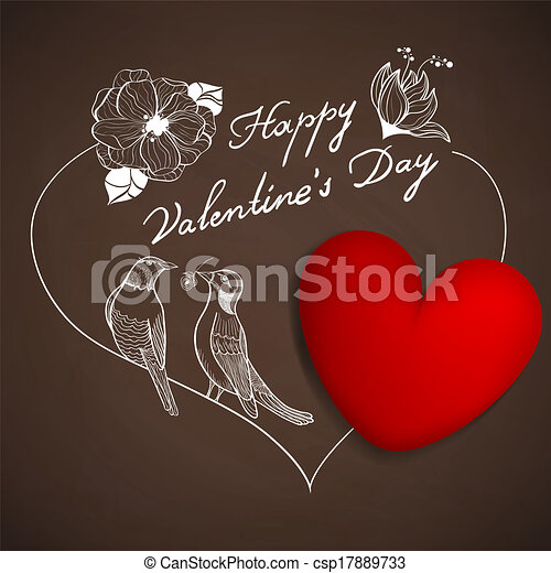 Be my valentine - csp17889733