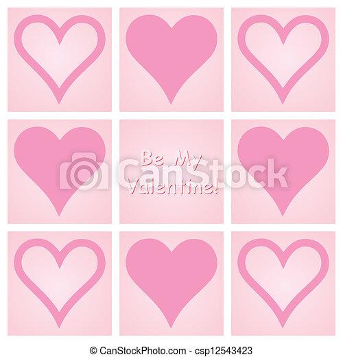 be my valentine  - csp12543423
