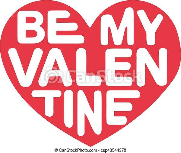 Be my Valentine - csp43544378