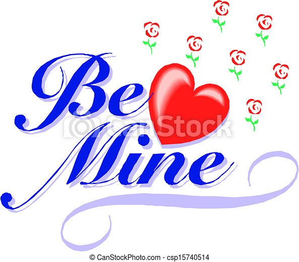 be my valentine - csp15740514
