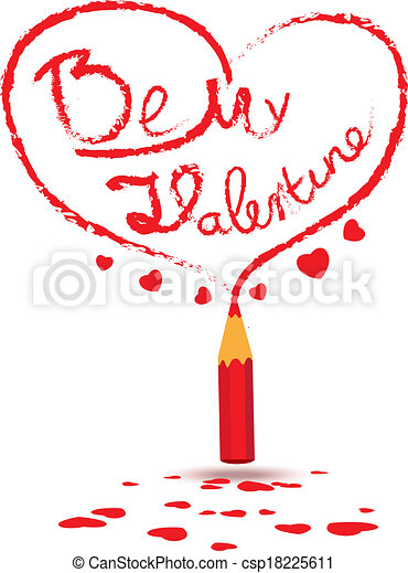 Be my valentine - csp18225611