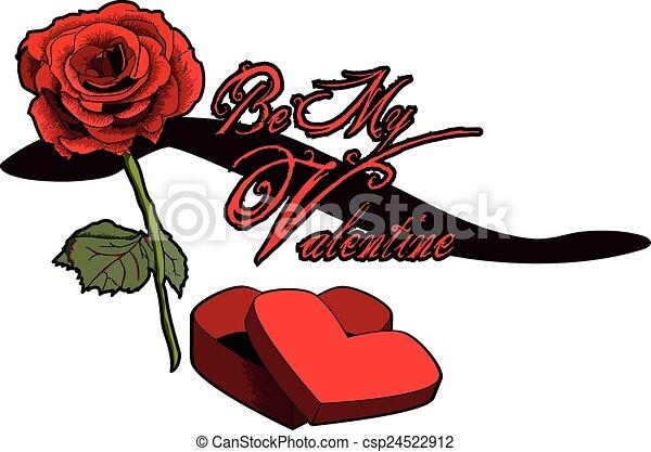 Be My Valentine - csp24522912