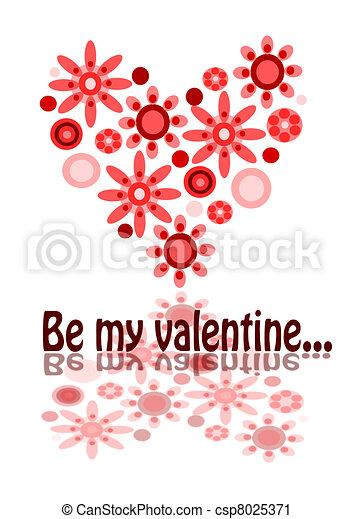 Be my valentine - csp8025371