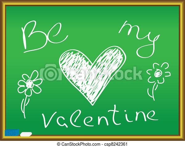 be my valentine - csp8242361