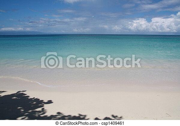 Beach and blue - csp1409461