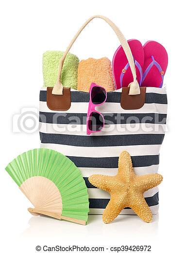 Beach bag - csp39426972