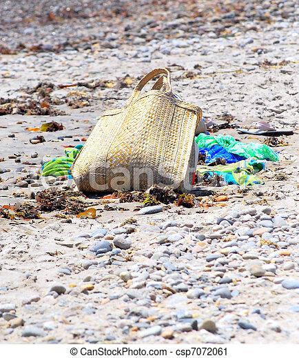 Beach bag. - csp7072061