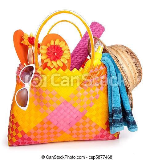 beach bag - csp5877468