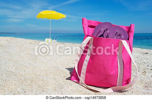 beach bag - csp14973858
