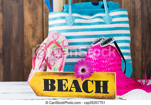 Beach bag - csp35357751