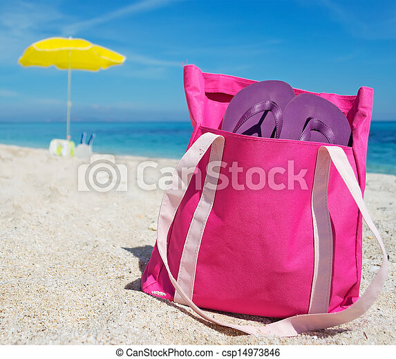 beach bag - csp14973846