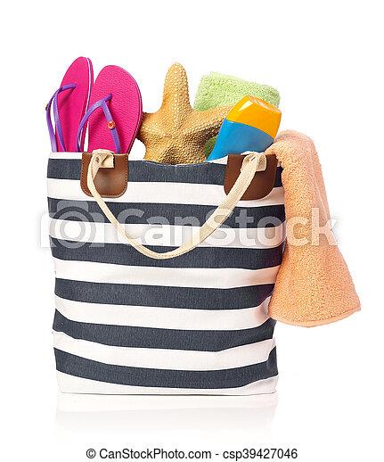 Beach bag - csp39427046