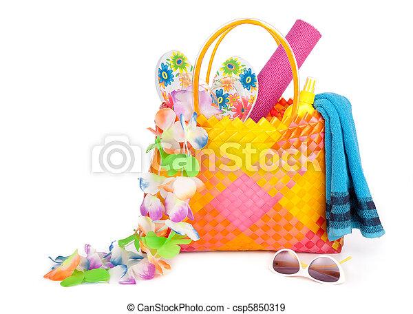 beach bag - csp5850319