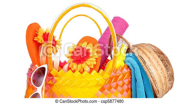beach bag - csp5877480