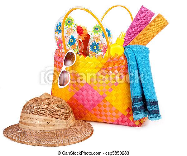 beach bag - csp5850283