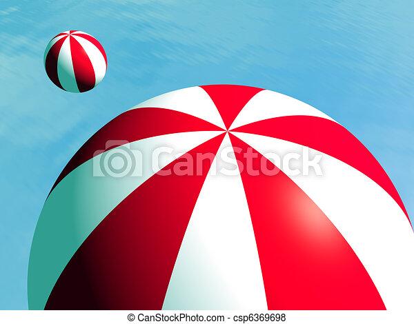 Beach ball - csp6369698