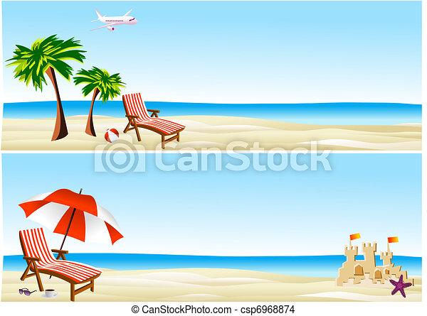 beach banners - csp6968874