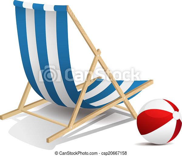 Beach chair - csp20667158