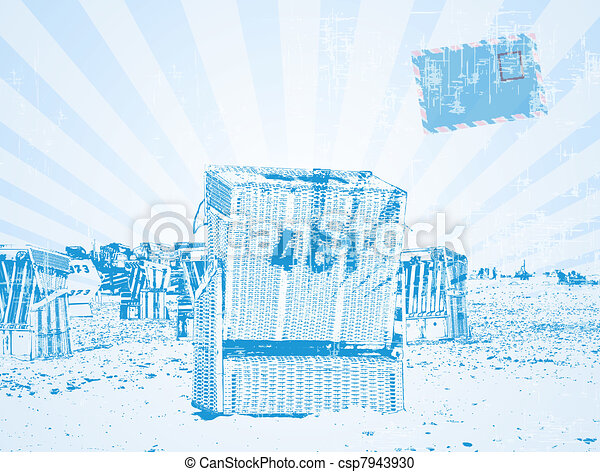 beach chair - csp7943930