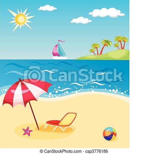 beach - csp3776186