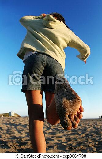 Beach girl - csp0064738