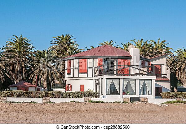 Beach house in Swakopmund - csp28882560