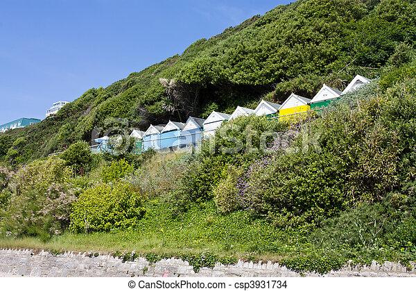 Beach Hut Hill - csp3931734