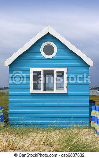 Beach Hut - csp6837632