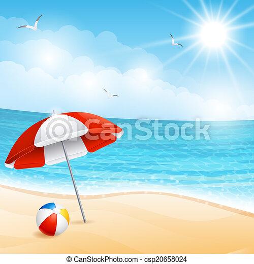 Beach - csp20658024