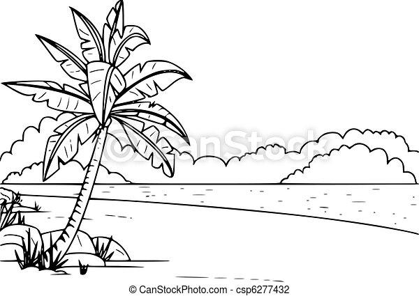 Beach csp6277432