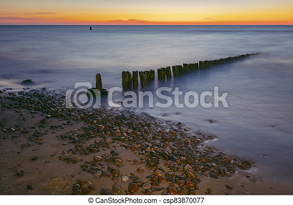 Beach in Gaski - csp83870077