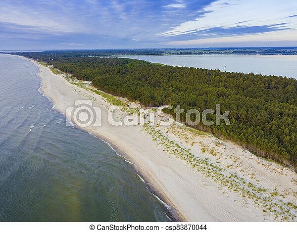 Beach in Lazy - csp83870044