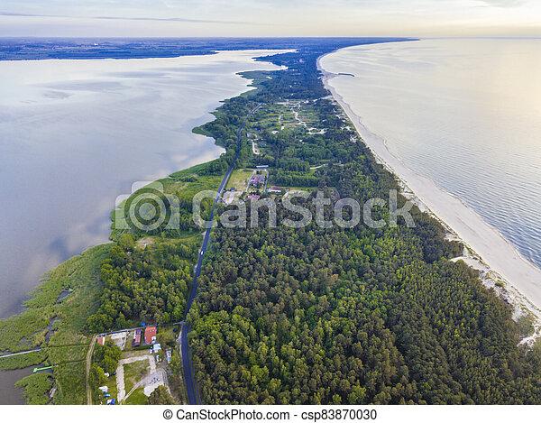 Beach in Lazy - csp83870030