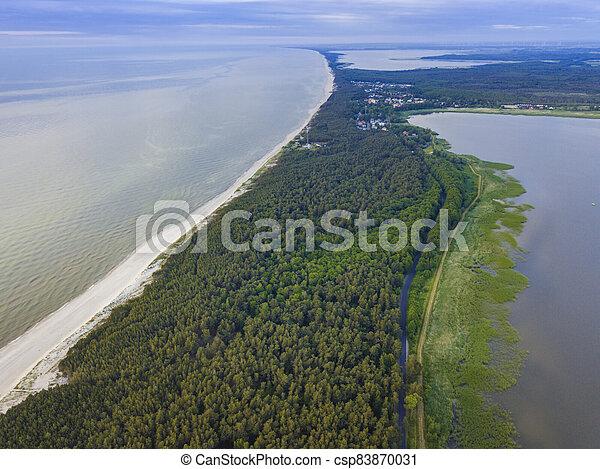 Beach in Lazy - csp83870031
