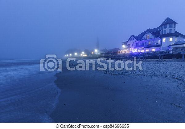 Beach in Sarbinowo - csp84696635