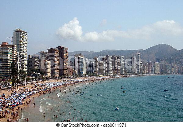 beach in spain - csp0011371