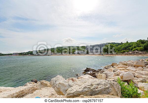 Beach on the Black Sea - csp26797157