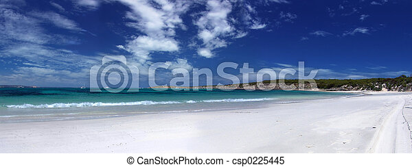 Beach Panoramic - csp0225445