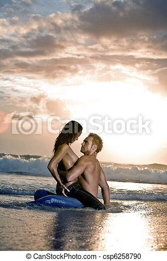 Beach passion - csp6258790