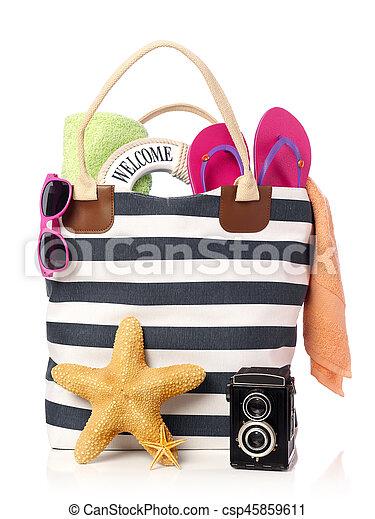 Beach ready - csp45859611