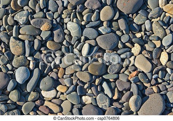 beach rocks - csp0764806